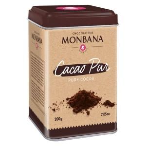MONBANA - Cacao Pur, 200 Gramm