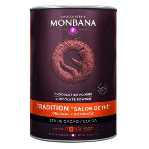 """MONBANA - Tradition """"Salon de Thé"""" - 32 % Cocao 1 kg"""