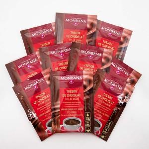 MONBANA-Trinkschokolade - Sorte Trésor de Chocolat - 10er Set