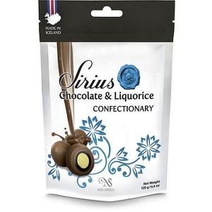 NÓA Milchschokolade mit Kokos- und Lakritz, Konfekt mit Lakritz