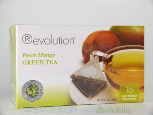 Revolution Tee - Peach Mango Green Tea - mit Pfirsich- und Mangogeschmack
