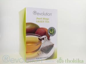 """MHD 03-2019 / Revolution Tee - Peach Mango Green Tea - mit Pfirsich und Mangogeschmack - Gastro """"foliert"""""""