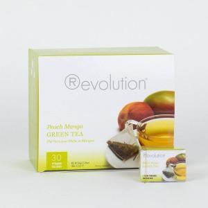 Revolution Tee - Peach Mango Green Tea - mit Pfirsich und Mangogeschmack - Gastronomiepackung
