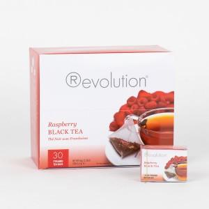 Revolution Tee - Raspberry Black Tea - mit Himbeeraroma - Gastronomiepackung