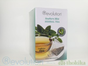 "MHD 04/2020 - Revolution Tee - Southern Mint Herbal Tea - Gastro ""foliert"" - Koffeinfrei"