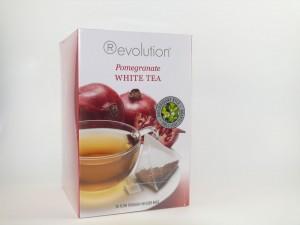 """Revolution Tee - Weißer Tee mit Granatapfel - Gastro """"foliert"""""""