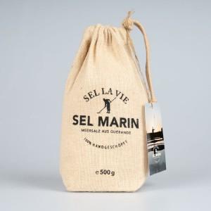 SEL LA VIE - SEL MARIN, handgeschöpftes Meersalz aus Guérande