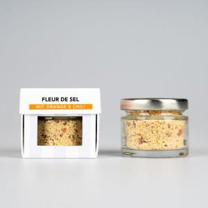 SEL LA VIE - Fleur de Sel mit Orange und Chili, BIO