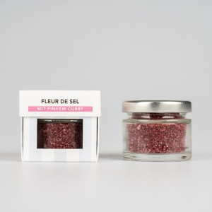 SEL LA VIE - Fleur de Sel mit pinkem Curry, BIO