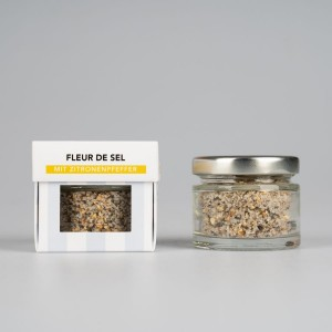 SEL LA VIE - Fleur de Sel mit Zitrone und Pfeffer, BIO