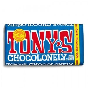 TONY´S CHOCOLONELY - puur 70% Zartbitterschokolade