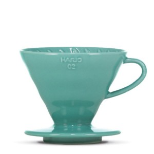 "HARIO V60 Dripper ""Colour Edition"" turquoise-green (VDC-02-TQ-BB)"