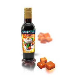 VEDRENNE - Sirop Saveur Caramel - Karamell-Sirup