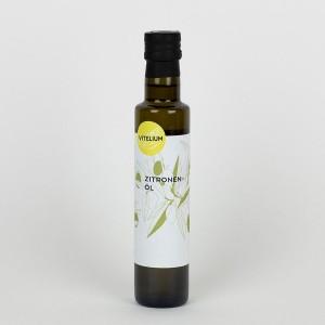 Zitronenöl mit nativem Olivenöl extra aus Italien, 250 Mililiter