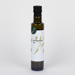 Rosmarinöl mit nativem Olivenöl extra aus Italien, 250 Mililiter