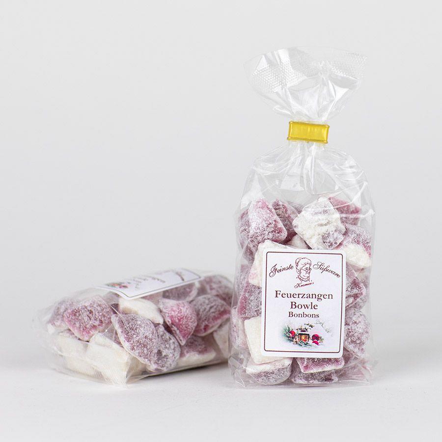 MHD 12-2019 / Feuerzangenbowle, Bonbons mit Glühwein-Rum-Geschmack