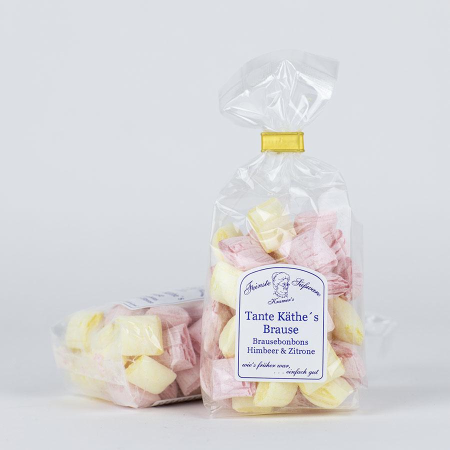 Tante Käthe´s Brause - Himbeer-Zitrone-Brausebonbons