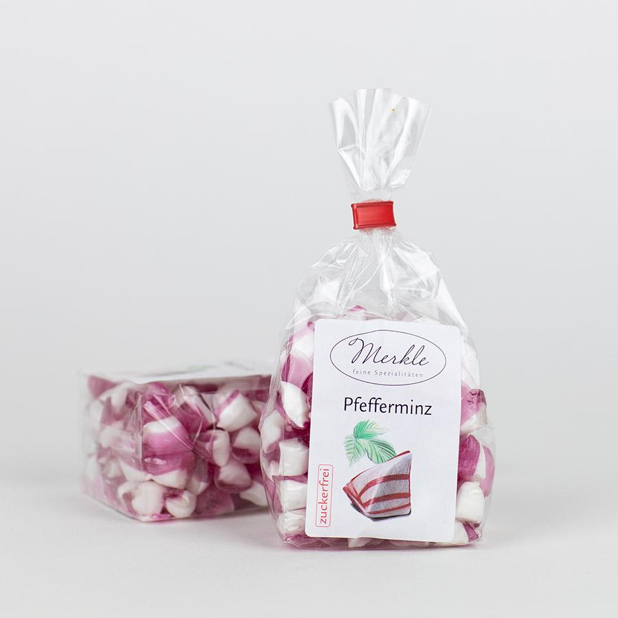 - zuckerfrei - Pfefferminzbonbons