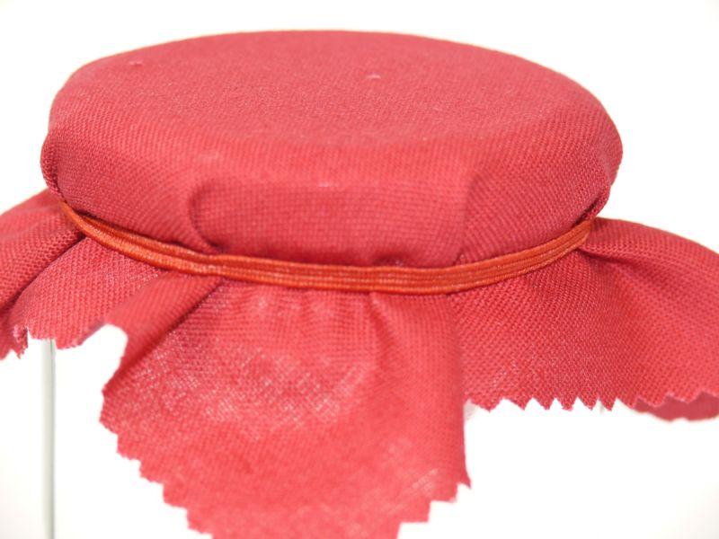 Hauben-/Deckchen für Marmeladengläser