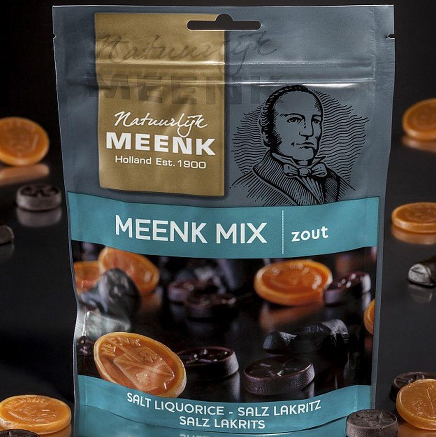 225 Gramm Meenk Mix zout, Salzlakritzmischung von Meenk