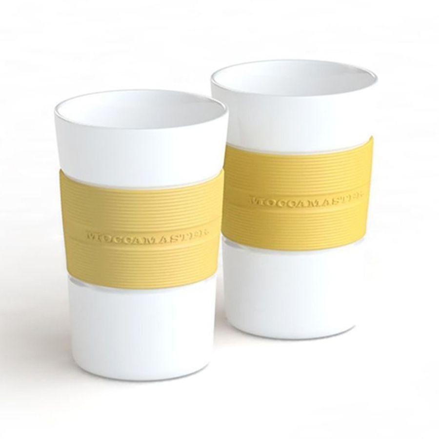 Moccamaster Kaffeetassen Set 2 Stück - Pastel Yellow (Art. Nr. MA024)