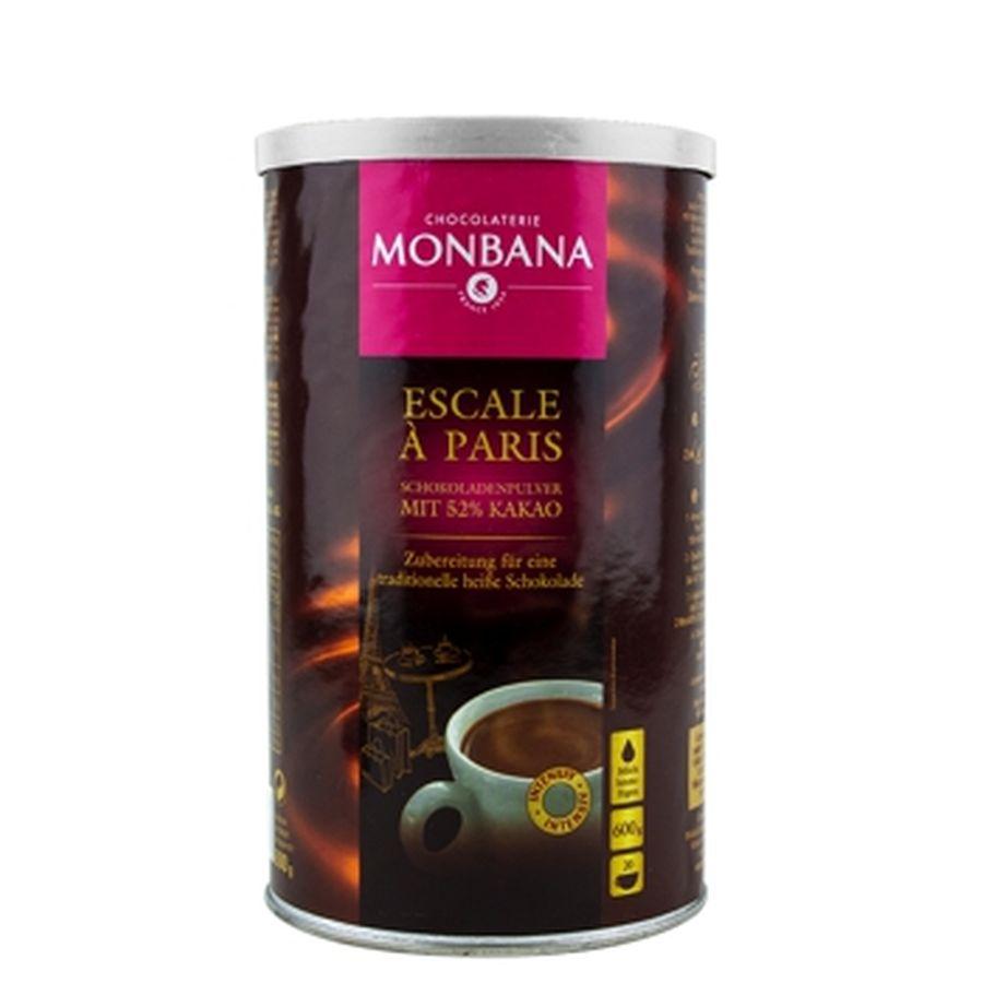 MHD 07-2020 / MONBANA - Escale à Paris - 52 % Cocao 600 Gramm