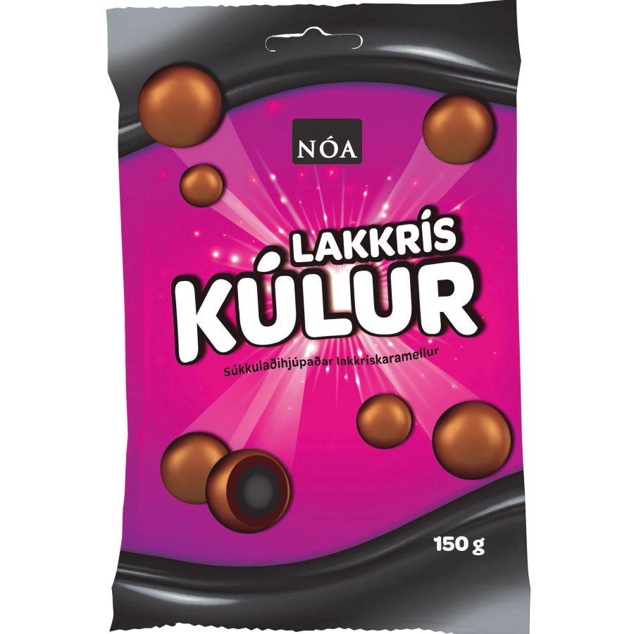 NÓA Noa Lakkriskulur - Lakritztoffee mit Karamell