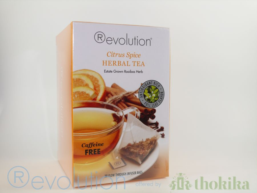 "Revolution Tee - Citrus Spice Herbal Tea - Gastro ""foliert"" - Koffeinfrei"