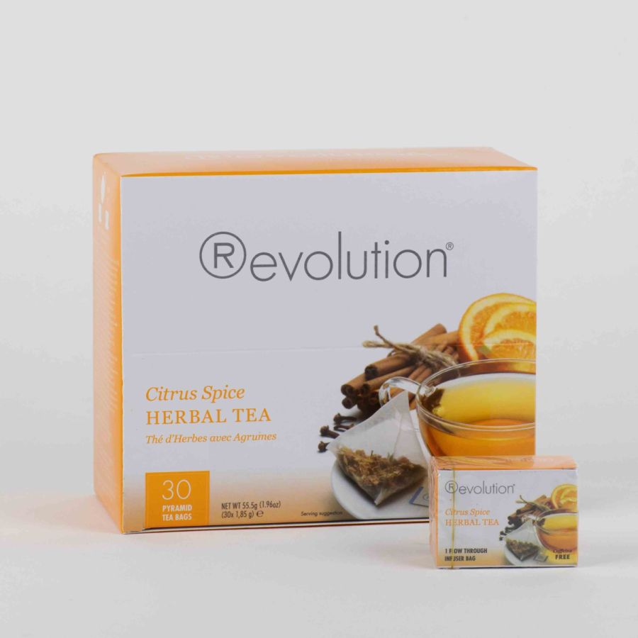 Revolution Tee - Citrus Spice Herbal Tea - Gastronomiepackung - Koffeinfrei