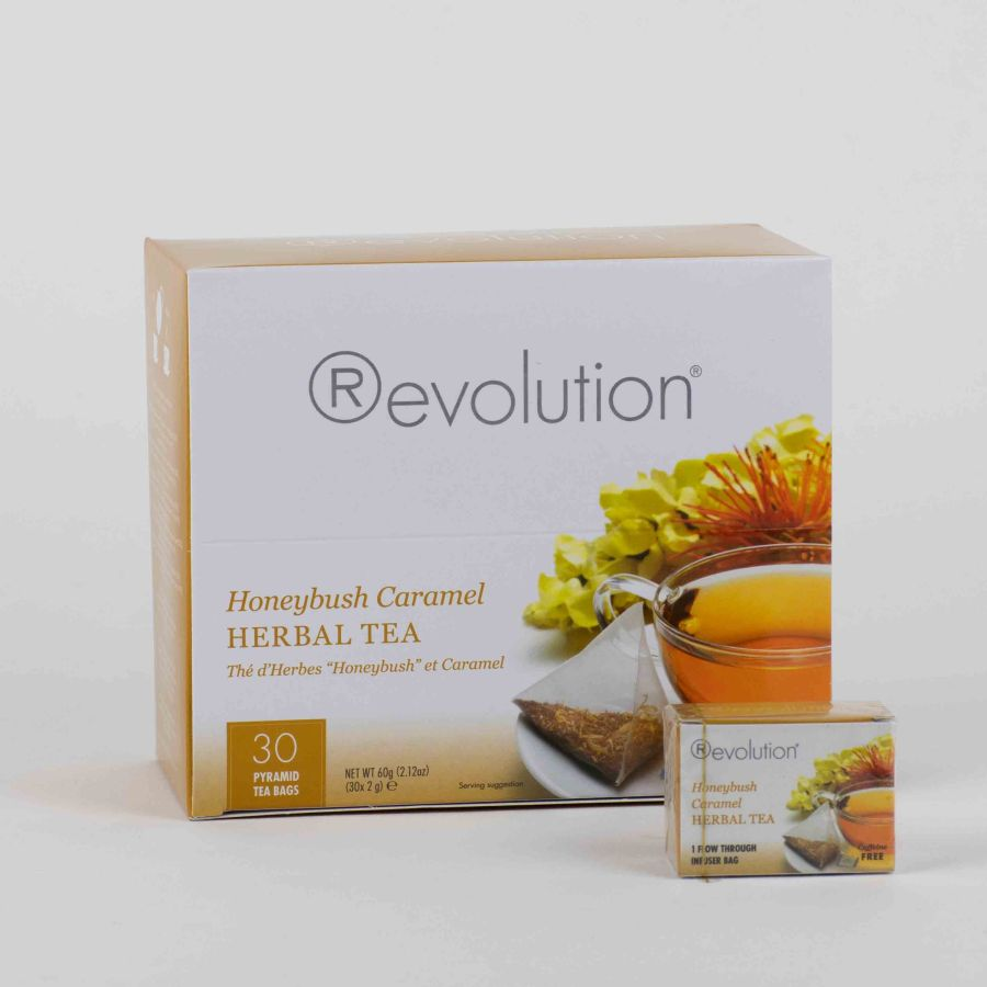 Revolution Tee - Honeybush Caramel Tea - Gastronomiepackung *Koffeinfrei*
