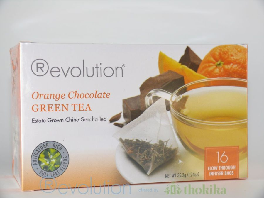 MHD 09/2020 Revolution Tee - Orange Chocolate Green Tea