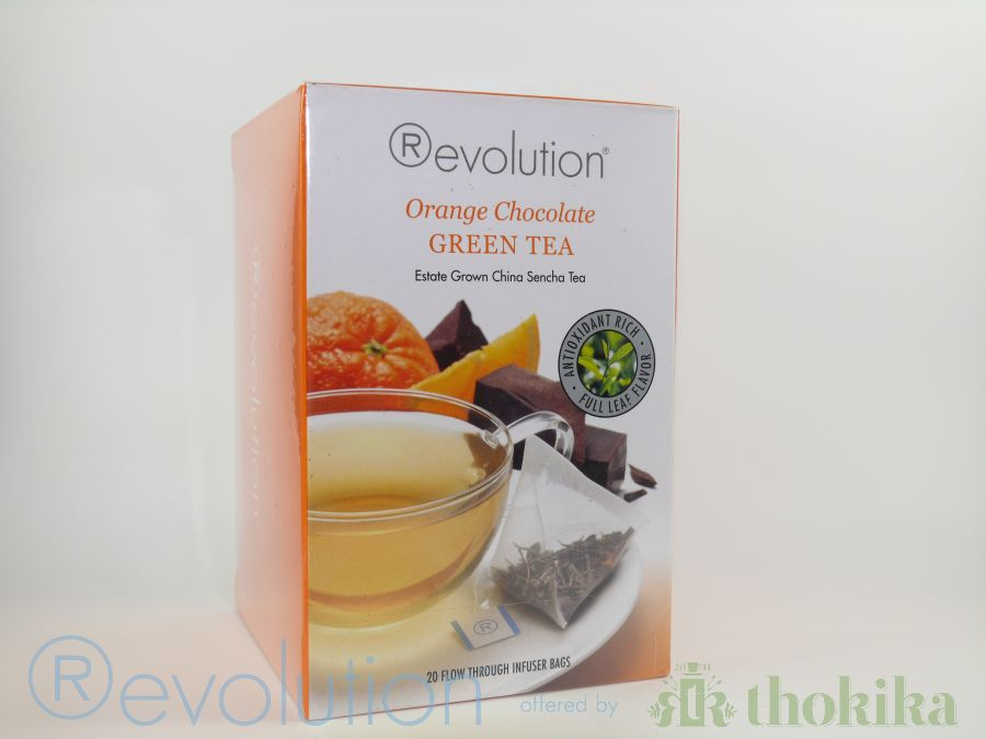 "Revolution Tee - Orange Chocolate Green Tea - Gastro ""foliert"""