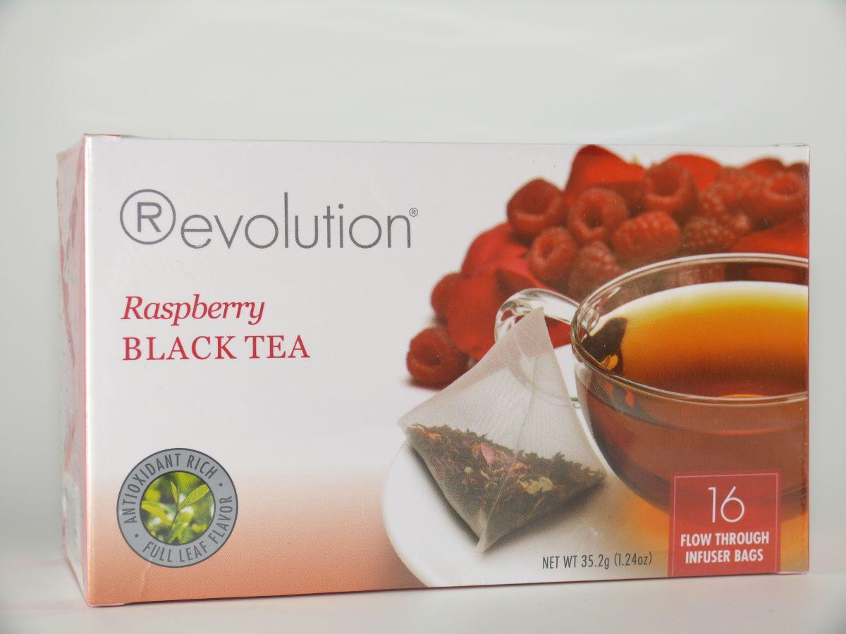 Revolution Tee - Raspberry Black Tea - mit Himbeeraroma