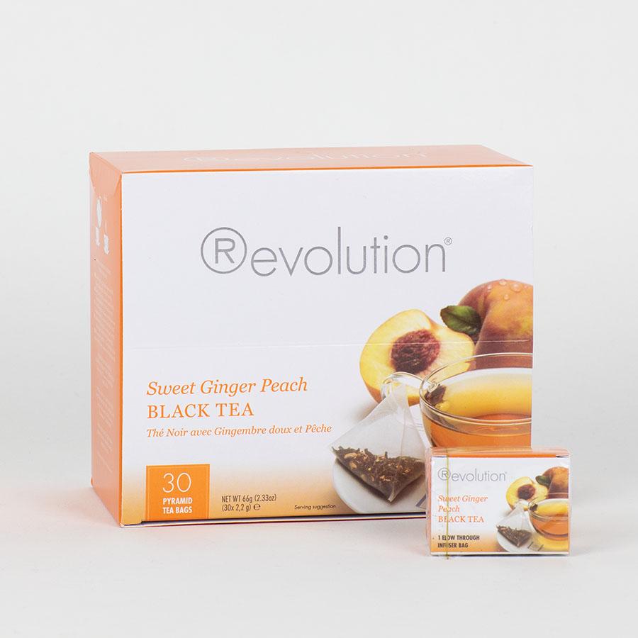 Revolution Tee - Sweet Ginger Peach Tea - Gastronomiepackung