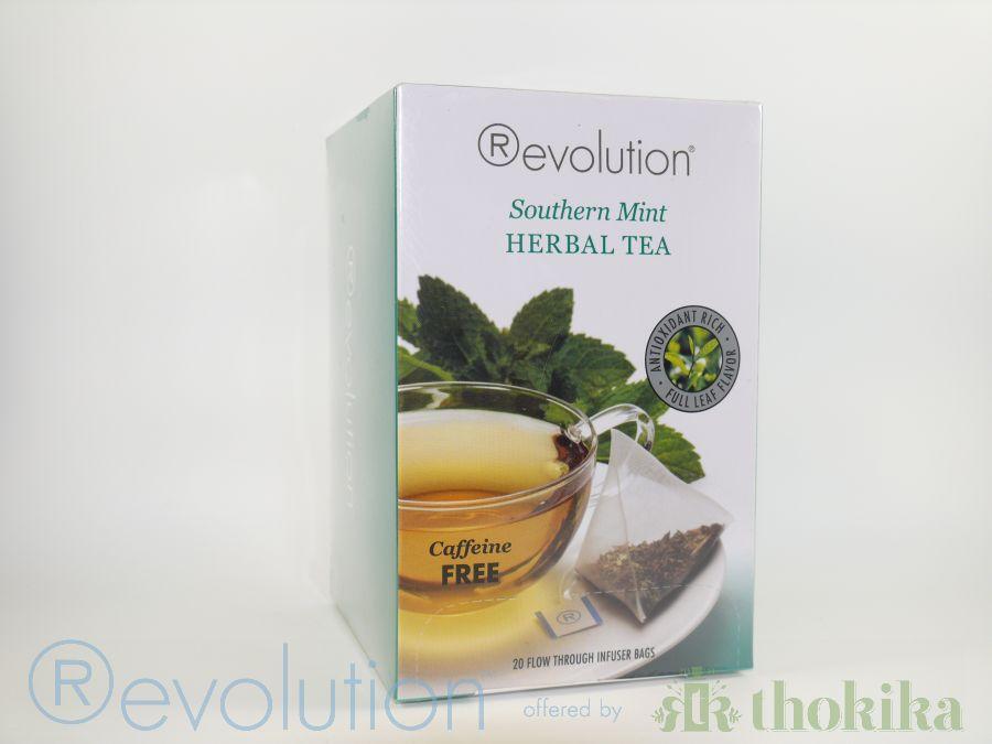 """MHD 04/2020 - Revolution Tee - Southern Mint Herbal Tea - Gastro """"foliert"""" - Koffeinfrei"""