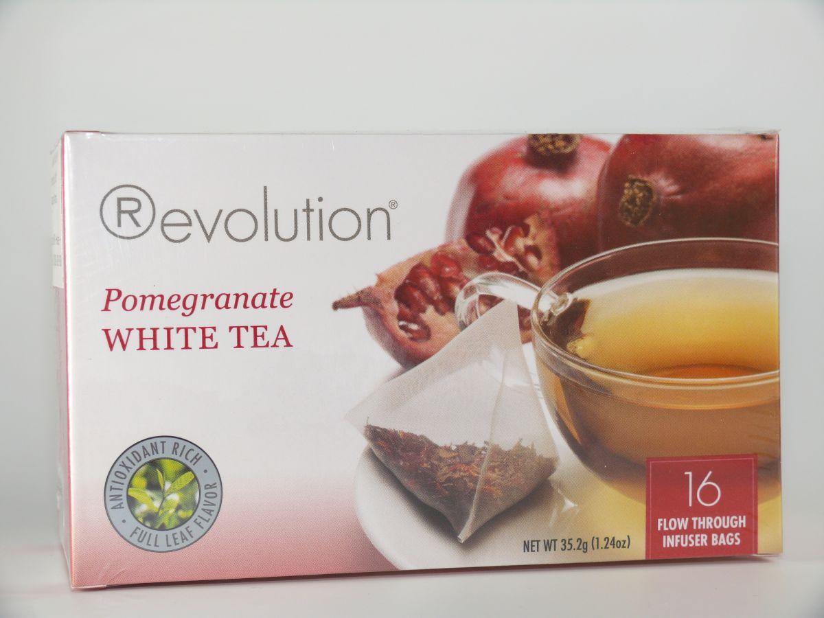 Revolution Tee - Weißer Tee mit Granatapfel