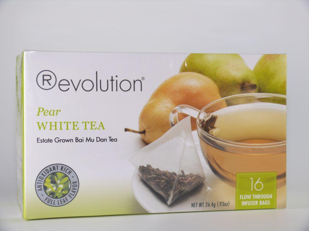 Revolution Tee - Weißer Tee mit Birnengeschmack