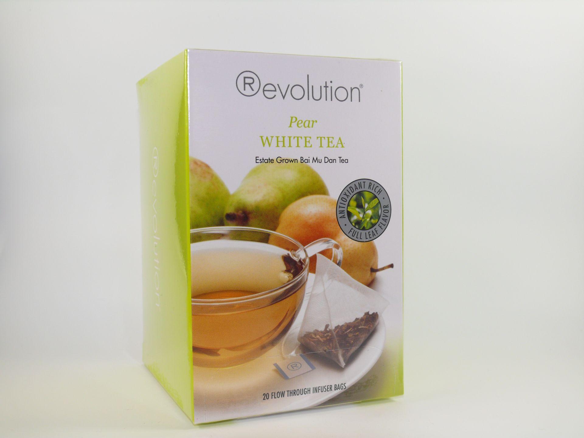 """MHD 06-2020 / Revolution Tee - Weißer Tee mit Birnengeschmack - Gastro """"foliert"""""""