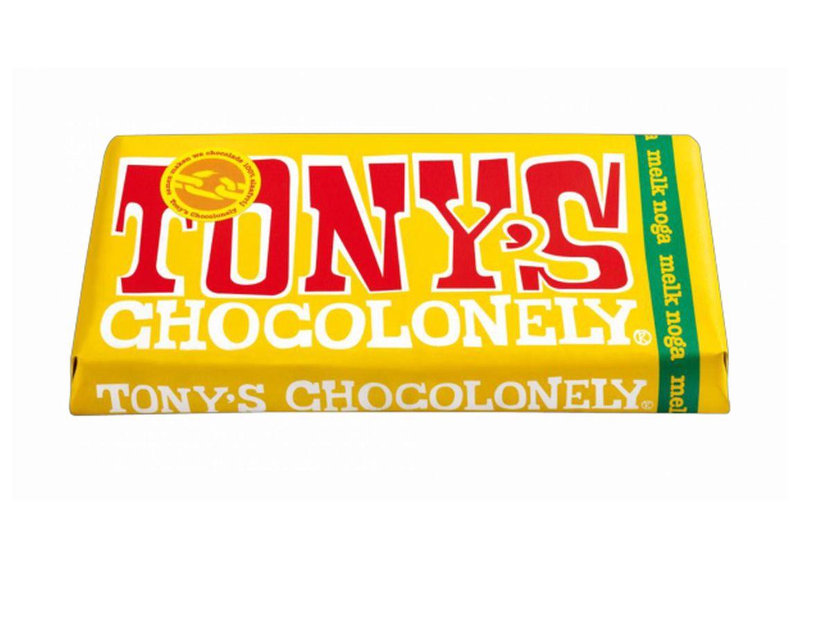 TONY´S CHOCOLONELY - Nougat-Schokolade
