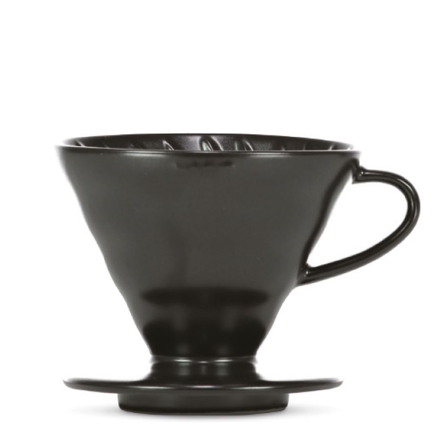 "HARIO V60 Dripper ""Colour Edition"" matte black (VDC-02-MM-MB)"