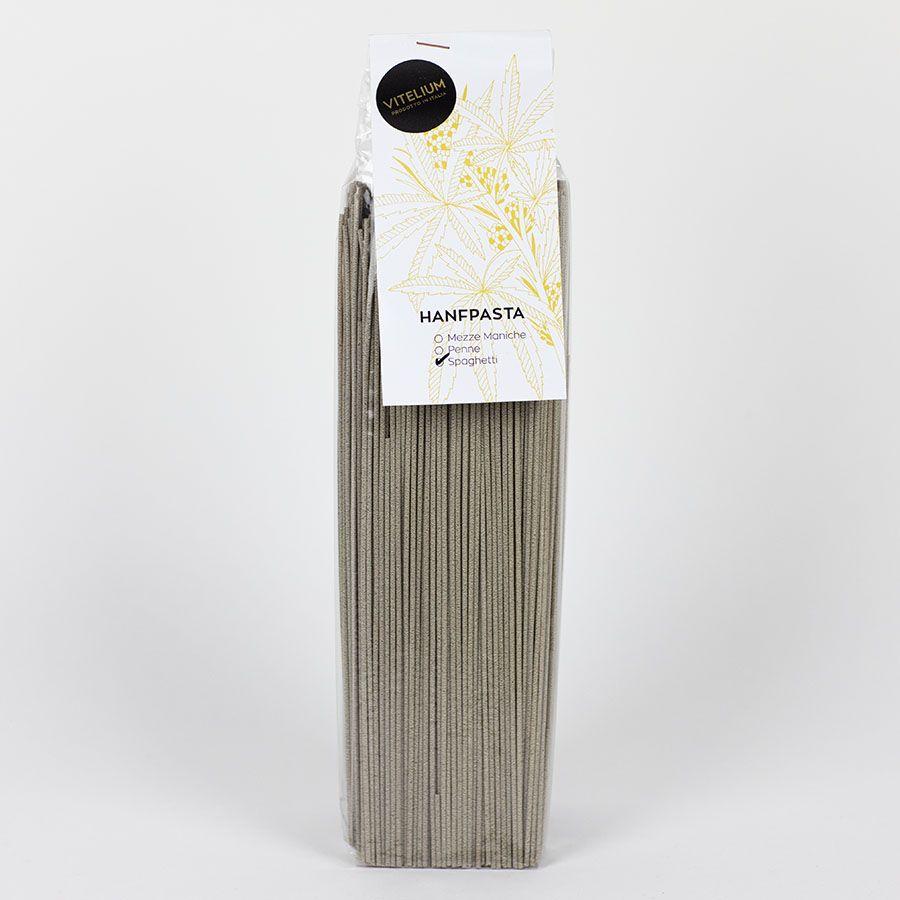 Hanf-Spaghetti, Nudeln ohne Ei, 500 Gramm